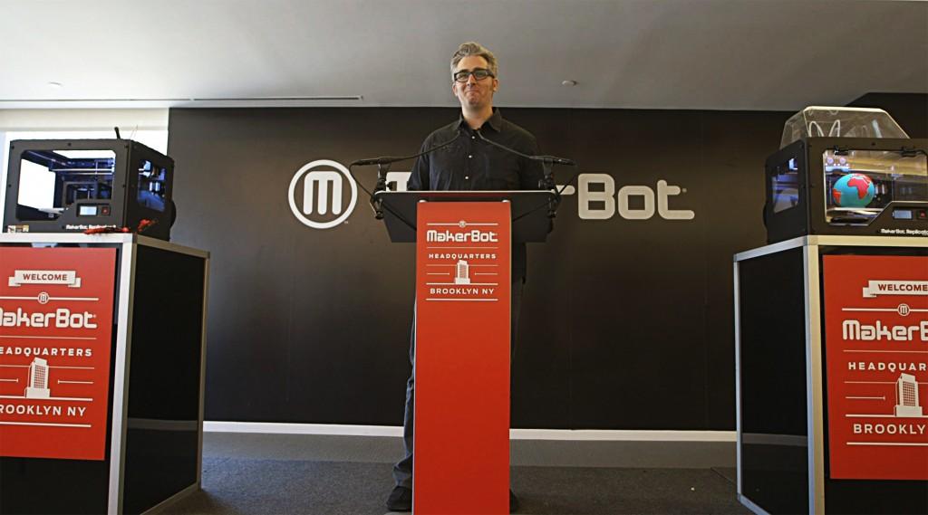 PTL Bre Pettis of Makerbot